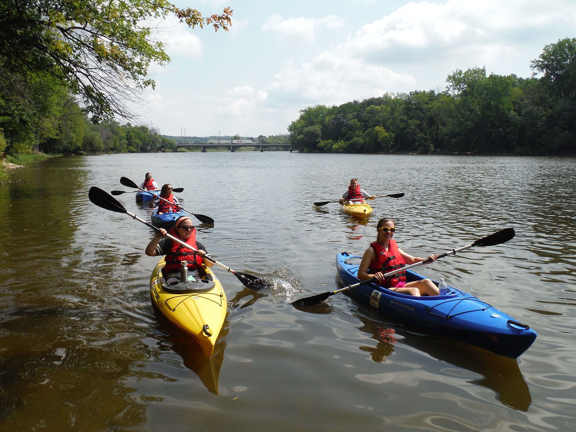 The Grand River becoming a paddlers' paradise