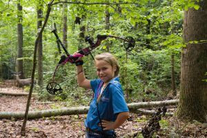 Popular 3D archery allows hunters and non-hunters alike to shoot life-size models of animals. (Photo: Shannon Rikard/ATA)