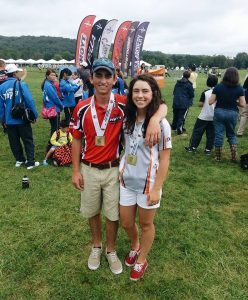 Siblings Chris and Emily Bee of Hartland grew up shooting archery and hunting. Both are now on the MSU Archery Team and compete worldwide.