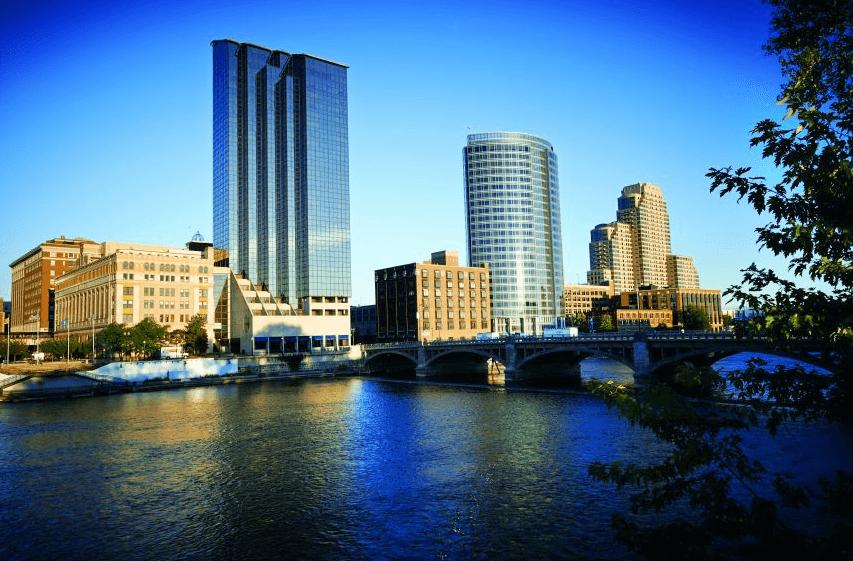 Grand Rapids: Water, water everywhere