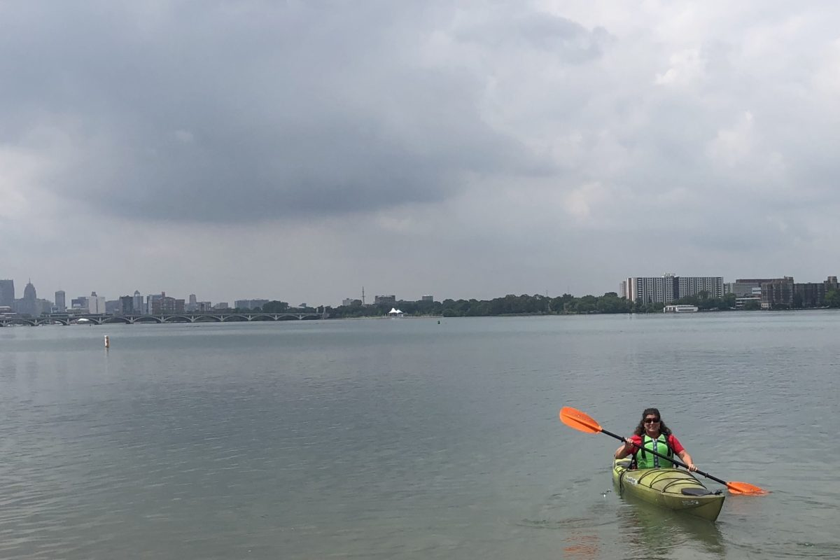 kayaking near Belle Isle