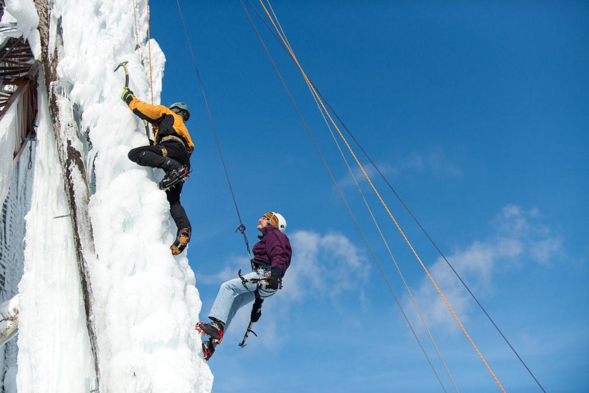Peabody Ice Climbing