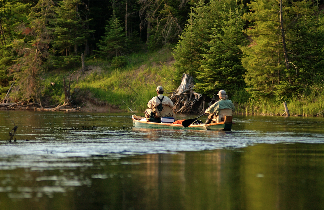 Fly Fishermen on the Au Sable River