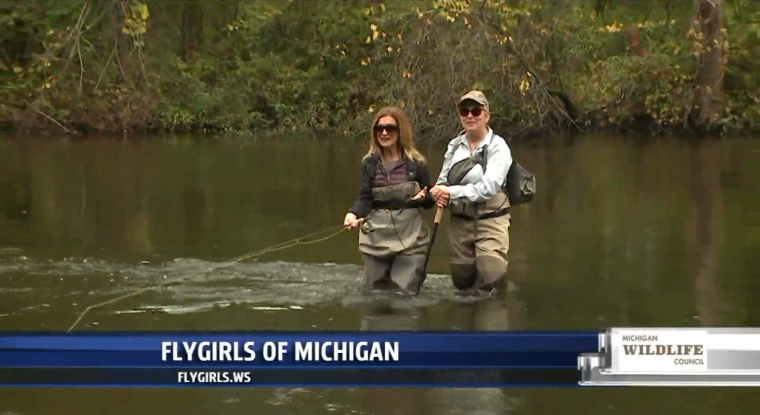 On the water with Flygirls of Michigan