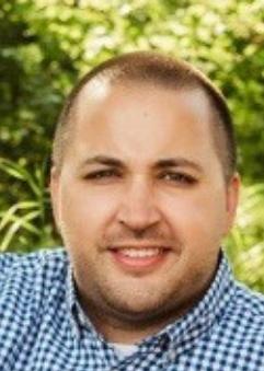 Photo of Matt Pedigo, seen from the shoulders up