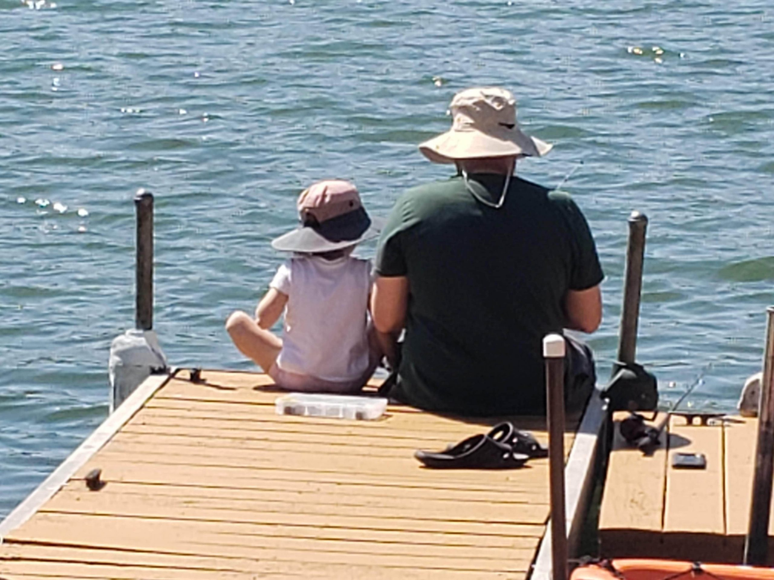 Fishing helps father, daughter bond while isolating during pandemic crisis